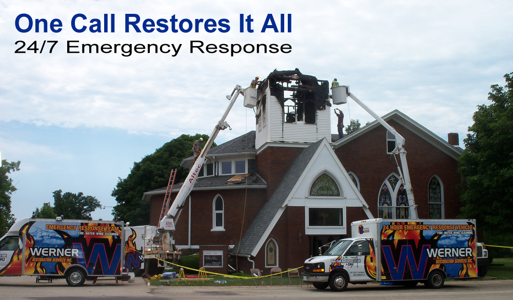 Werner Restoration Services Fire and Smoke Damage
