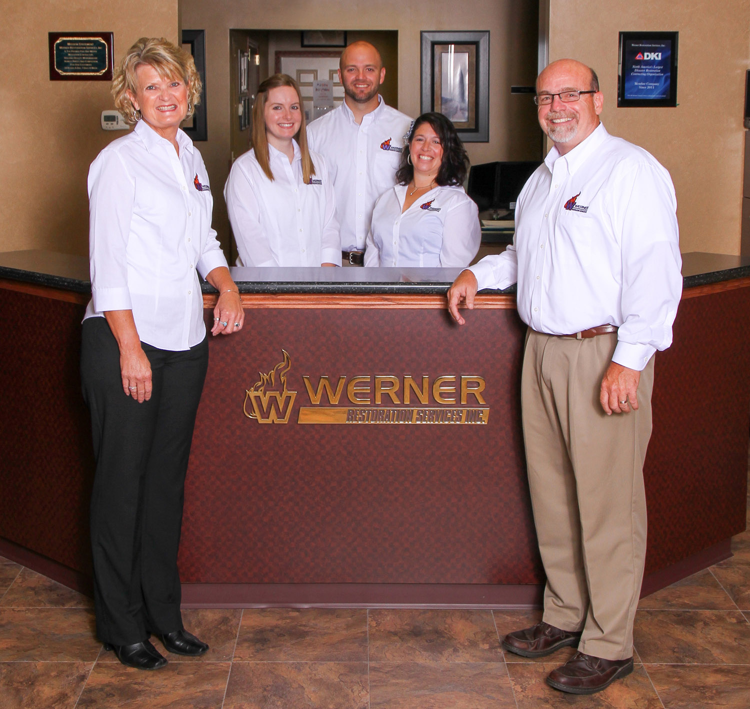 Werner Restoration Services | Werner Family Photo