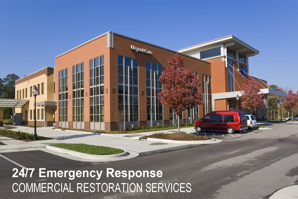 24/7 Commercial restoration services | Werner Restoration