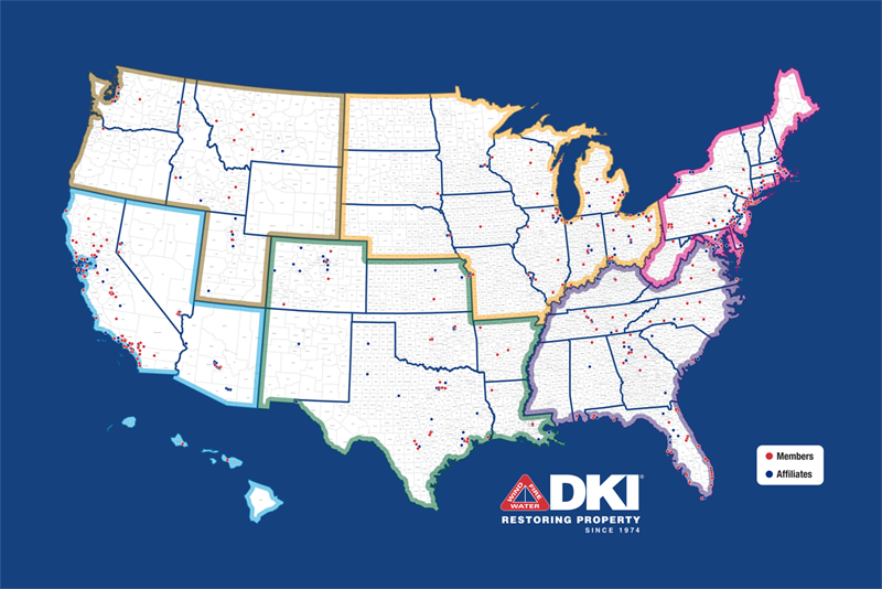 DKI Member company map