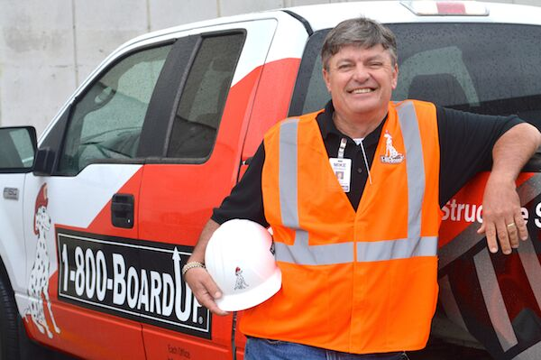 WERNER AND 1-800-BOARDUP HELPING FAMILIES IN WESTERN ILLINOIS AND EASTERN IOWA